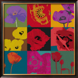 Pop Poppies Poster by Don Li-Leger