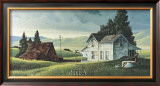 Washday in the Valley Prints by R. Bradford Johnson