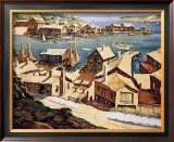 Peaceful Harbor Prints by Henry Gasser