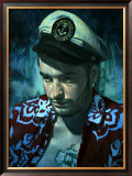 Waikiki Wally's King of the Sea Framed Giclee Print by Richie Fahey