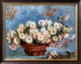 Chrysanthemums, c.1878 Print by Claude Monet