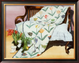 Tulip Quilt Prints by Raenell Doyle