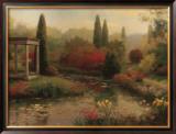 Garden Pond Poster by  Haibin