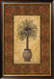 Palm Mosaic II Poster by Nicholas Santori