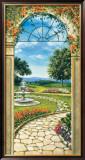 Giardino Con Fontana Prints by Giovanbattista Mannarini