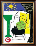 Capri Chair Posters by Muriel Verger