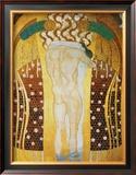 Diesen Kuss der Ganzen Welt Print by Gustav Klimt
