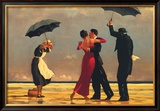 The Singing Butler Print by Jack Vettriano