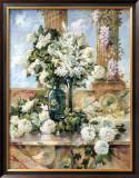 Hydrangeas in Bloom Prints by Paul Groeber