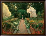 Jardin de Aranjuez Prints by Santiago Rusinol