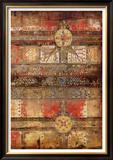 Tribal Gold I Print by John Douglas
