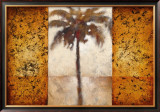 Sunset Palms I Prints by Scott Lee