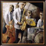 Jazz en Vivo Posters by Didier Lourenco