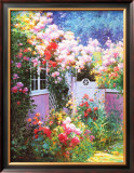 Rosebay Cottage Poster by Charles Zhan