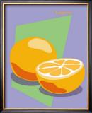 Tangerine Framed Giclee Print by  ATOM