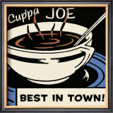 Cup'pa Joe Best in Town Poster