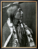 Jicarilla Apache Poster by Edward S. Curtis