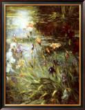 Water Garden Symphony II Prints by Greg Singley