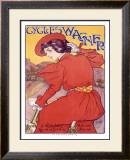 Cycles Wagner Framed Giclee Print by Georges Gaudy