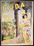 Cuba Framed Giclee Print