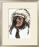 Sleeping Bear, Sioux Prints by Leonard Baskin
