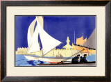 Lowestoft Framed Giclee Print by Newbould