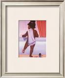 Bubble Bath Girl Prints by Stanley Morgan