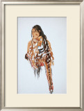 Ihkas-Kinne, Siksika Blackfeet Chief Prints by Karl Bodmer