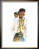 Ethiopian Girls Posters by Marion Howard