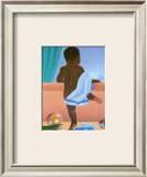 Bath Time Boy Posters by Stanley Morgan