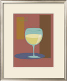 Chablis II Framed Giclee Print by  ATOM