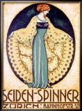 Seiden-Spinner, Zurich Framed Giclee Print