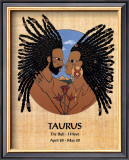 Taurus (Apr 20-May 20) Poster by Orah-El