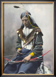 Native American Bow Posters by Ernst Heyn