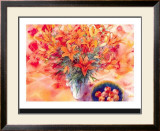Tiger Lilies Prints by Mae Book