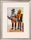 Street Musicians Prints by William H. Johnson