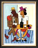 Cafe Posters by William H. Johnson