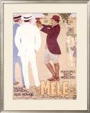 E&A Mele Framed Giclee Print