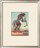 Santa Fe Railroad: Hopiland, c.1940's Posters by Don Perceval