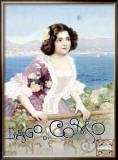 Lago di Como, Italy Framed Giclee Print
