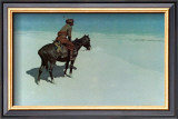 The Scout: Friends or Enemies Print by Frederic Sackrider Remington
