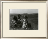 Overlooking the Camp Posters by Edward S. Curtis