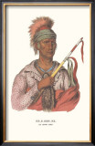 Ne-O-Mon-Ne, an Ioway Chief Prints by  McKenney & Hall