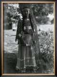 Sioux Maiden Poster by Edward S. Curtis