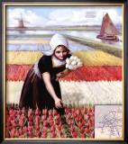 Chemins de Fer Neerlandais Framed Giclee Print