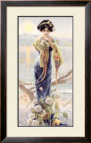 Gasper Camps Evening Hydrangea Framed Giclee Print by Gaspar Camps