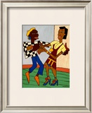 Jitterbugs Poster by William H. Johnson