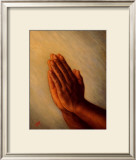 Praying Hands Print by Tim Ashkar