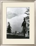 Praying to the Spirits at Crater Lake, Klamath Art by Edward S. Curtis