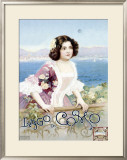 Lago di Como, Italy Framed Giclee Print